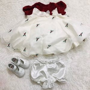 Christmas Dress Baby Girls Infant (6-9) M
